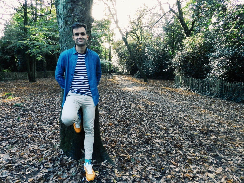 Camisa rayas Top Man, camisa chambray Zara.