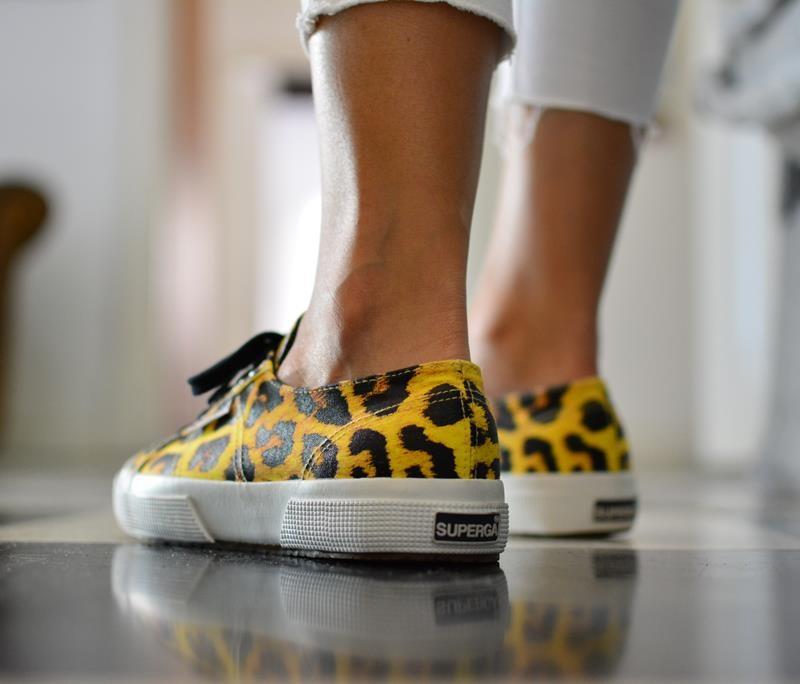 superga leopardo