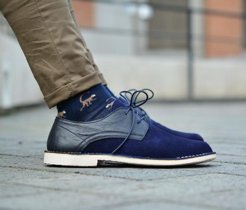 c52ea9547b2 amorshoes-derby-zapato-blucher-piel-serraje-marino-suela-