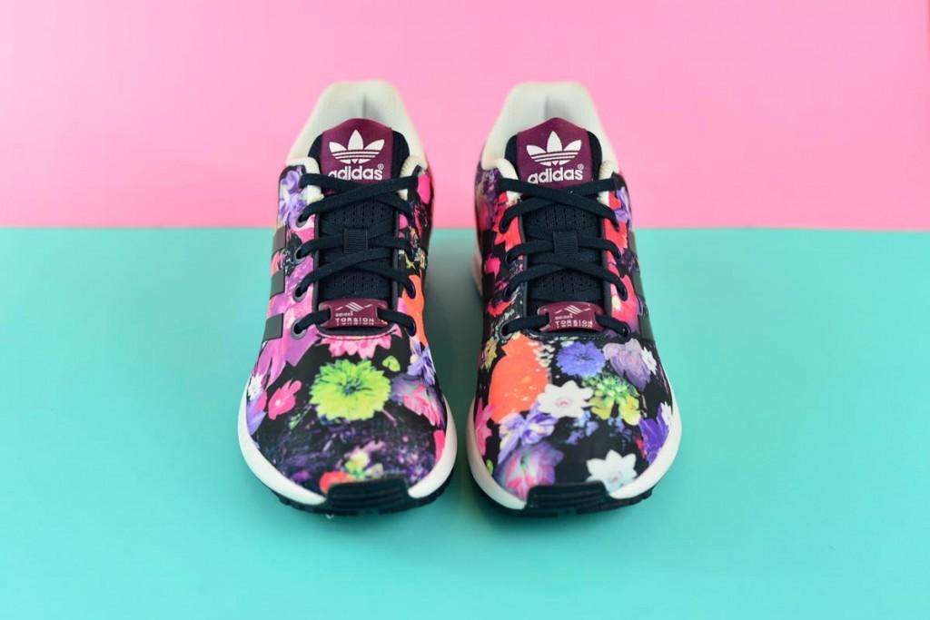 Imaginativo Notorio Poner  Adidas Originals ZX Flux Estampado Flores - AmorShoes