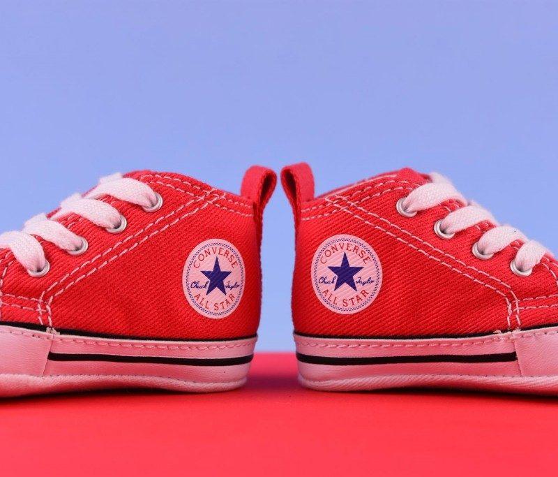 zapatillas converse rojas bebe