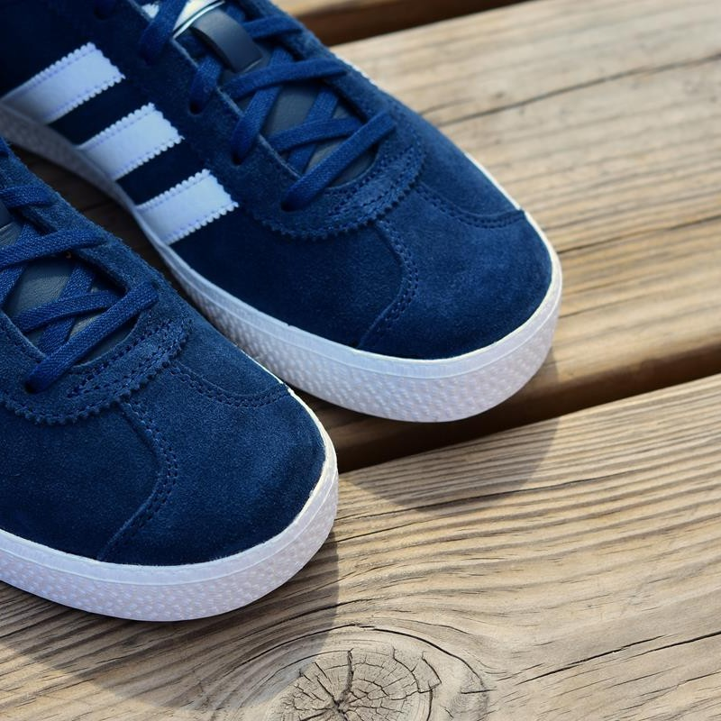 gazelle junior adidas azul