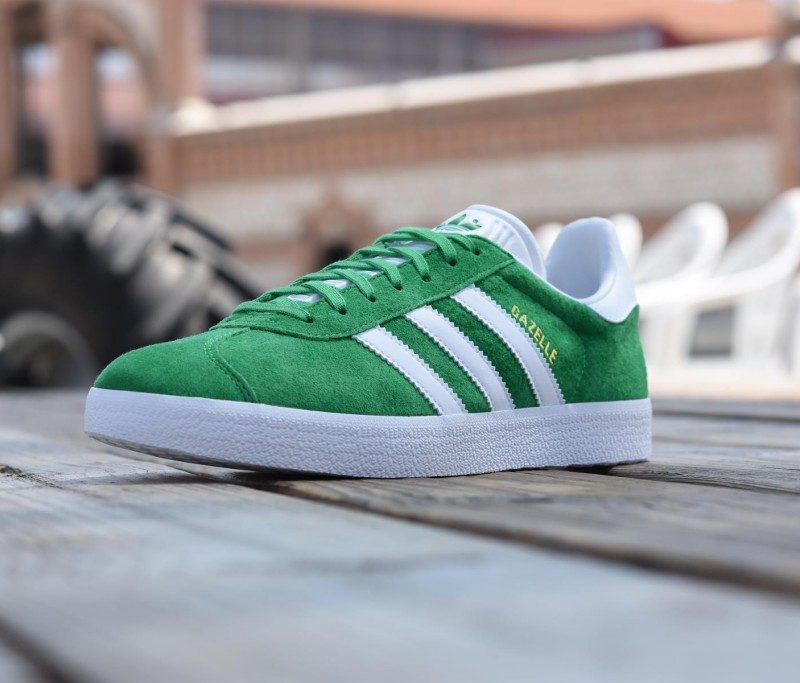 adidas gazelles verdes