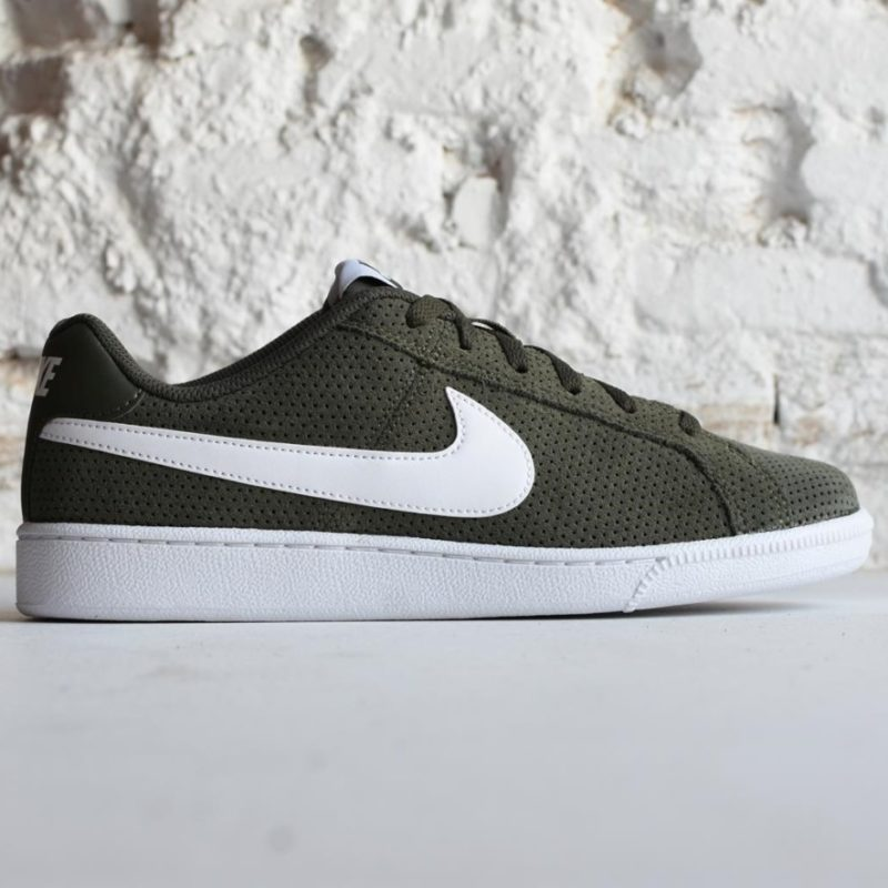 hot sales ef0bb 75b2f 819802-310AmorShoes-Nike-Court-Royale-Suede-Cargo-Khaki-