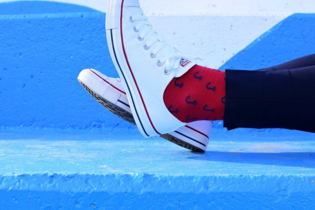 amorshoes-amorsocks-calcetines-socks-anzuelos-rojo-red-verde