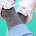 amorshoes-amorsocks-calcetines-socks-cubos-gris-melange-cuadrados-coral-verde-celeste