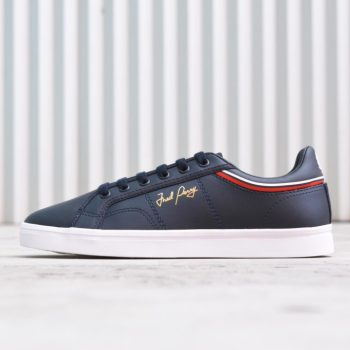b1180-608_amorshoes-fred-perry-chico-sidespin-leather-608-navy-azul-marino-b1180-608