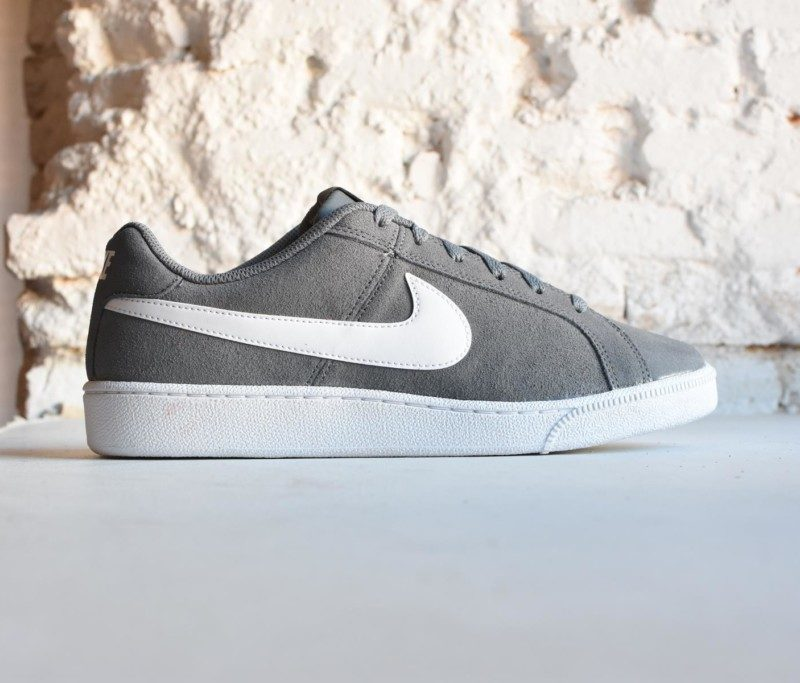 Nike Sportswear Court Royale Suede Cool Grey/White AmorShoes