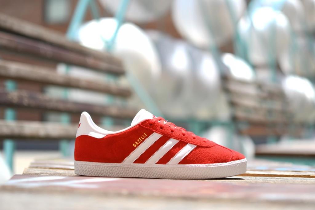 solo doblado Salvación  Adidas Originals Gazelle J Roja - AmorShoes