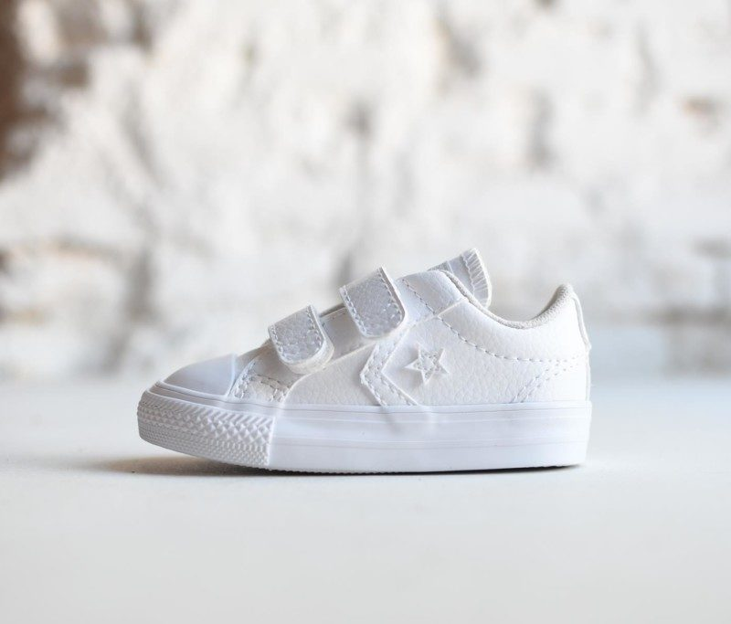converse star player blancas bebe