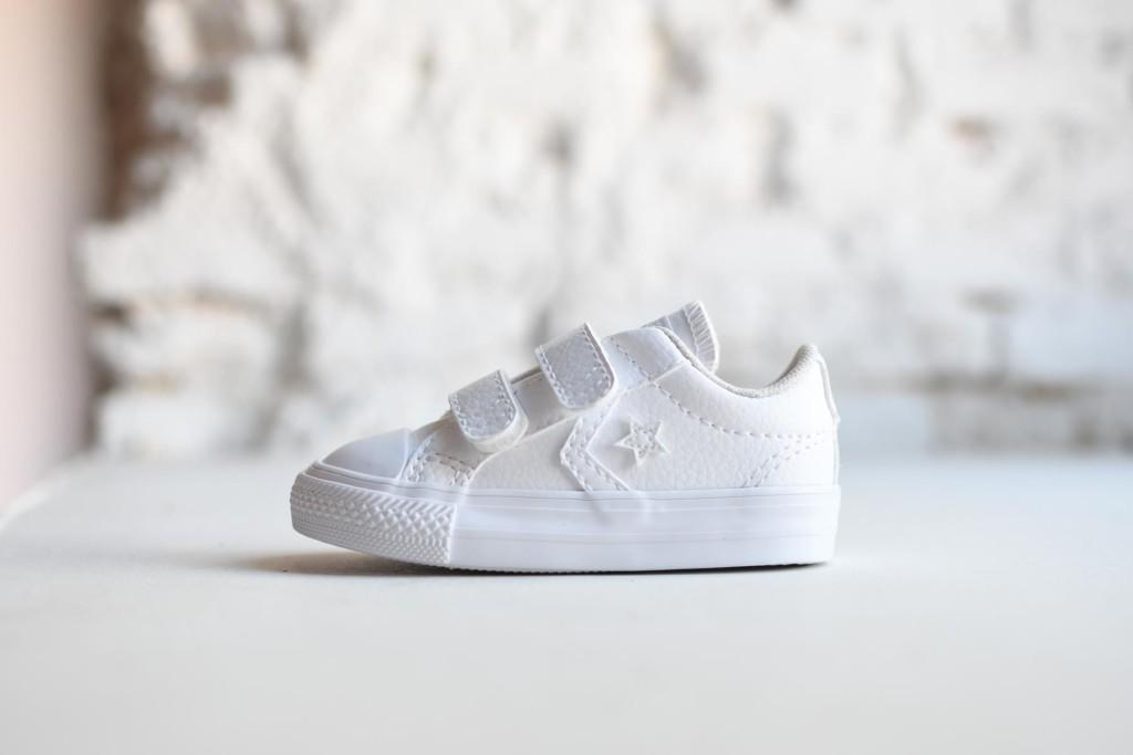 zapatillas converse piel niños