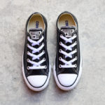 132174C_AmorShoes Converse Chuck Taylor All Star Piel Negra Baja