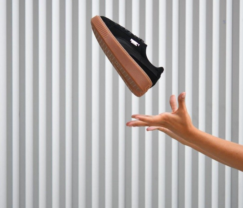 9189a41f9 365109-01 AmorShoes-Puma-Suede-Platform-Animal-Black-silver-