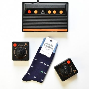 AmorSocks-calcetines-socks-marcianitos-arcade-space-invaders-atari-azul-marino-blanco-verd