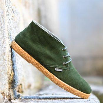 AmorShoes-Barqet-dogma-high-green-suede-bota-pisacacas-verde-botella