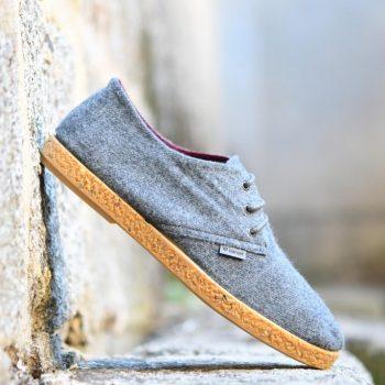 AmorShoes-Barqet-dogma-low-grey-cloth-gris-jaspeado-zapatilla-paño-suela-crepelina
