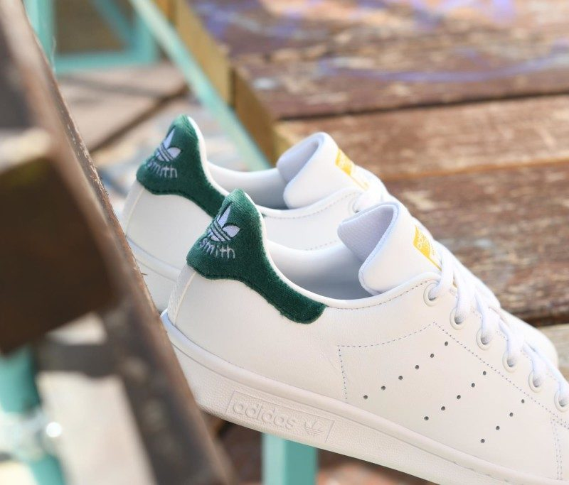 adidas stan smith j verde