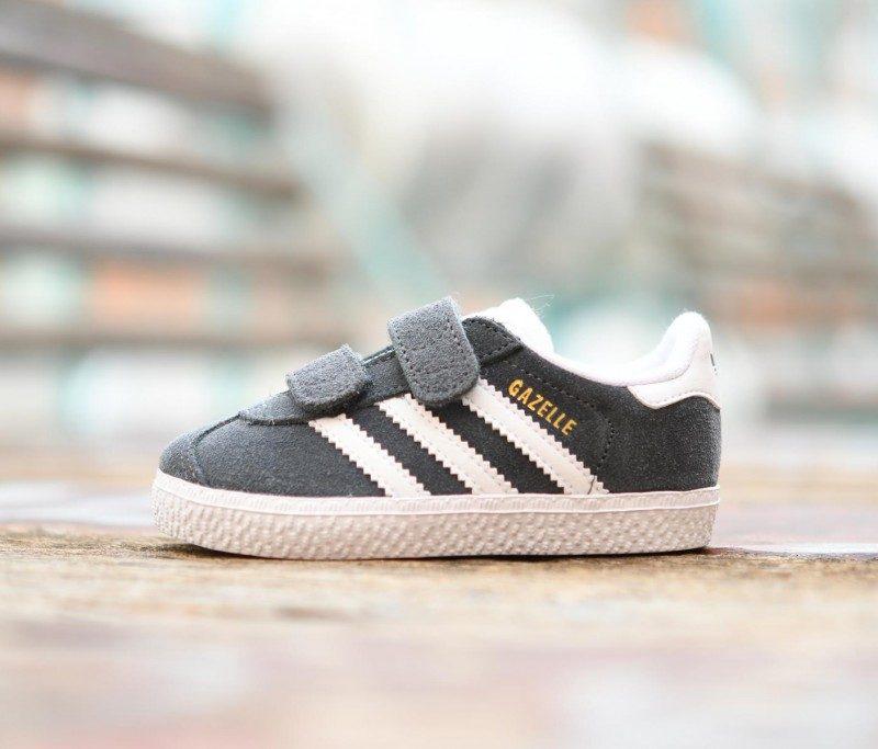 buy popular 723da b1331 CQ3140 AmorShoes-Adidas-Originals-Niñ -Gazelle-CF-I-Dark