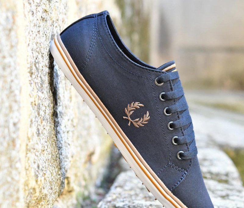 B6259U AmorShoes-Fred-Perry-Kingston-twill-248-navy-zapatilla- 60d49ac982c