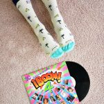 amorsocks-calcetines-socks-miami-palm-crema-verde-agua-palmeras-palm-beach