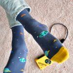amorsocks-calcetines-socks-space-atari-planetas-nabes-azul-naranja