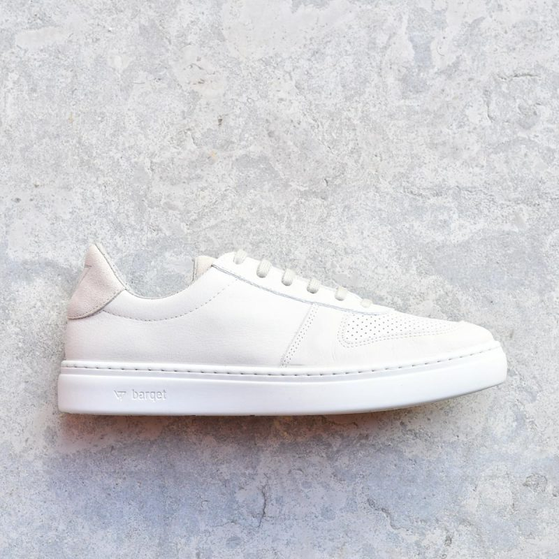 NL-01-36_AmorShoes-barqet-norma-ice-leather-zapatilla-hielo-crema-piel-perforada-unisex- NL-01-36