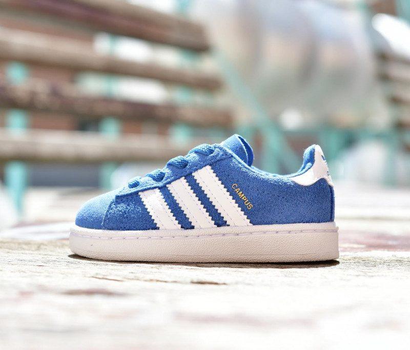 new styles fa0f4 e9989 Adidas Originals CAMPUS EL I Niñ  Azul   AmorShoes