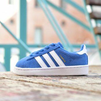 1ef9b660156af Adidas Originals CAMPUS EL I Niñ  Azul