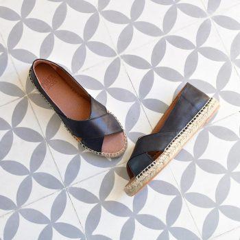 Sandalia Yute Cruzada Pölka Shoes Spes Negra 480p_AmorShoes-Polka-Alicia-sandalia-alpargata-esparto-yute-piel-negra-color-negra-black-480p