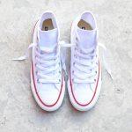 botas blancas converse