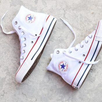botas converse all star blancas