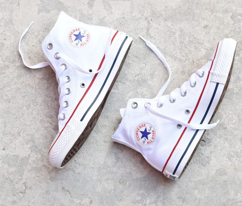botas converse all star blancas