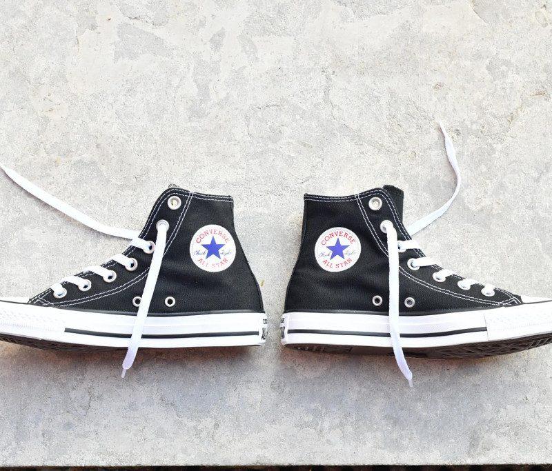 all star converse 38 negras