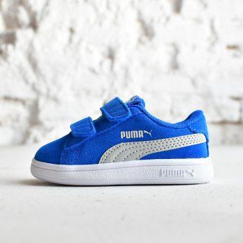 365178-11_AmorShoes-Puma-Smash-V2-SD-V-Infant-azul-royal-strong-blue-gray-violet-logo-gris-zapatilla-velcro-niño-piel-vuelta-ante-365178-11