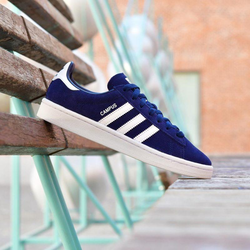 Usual Mitones saltar  Adidas Originals Campus J Azul Marino - AmorShoes