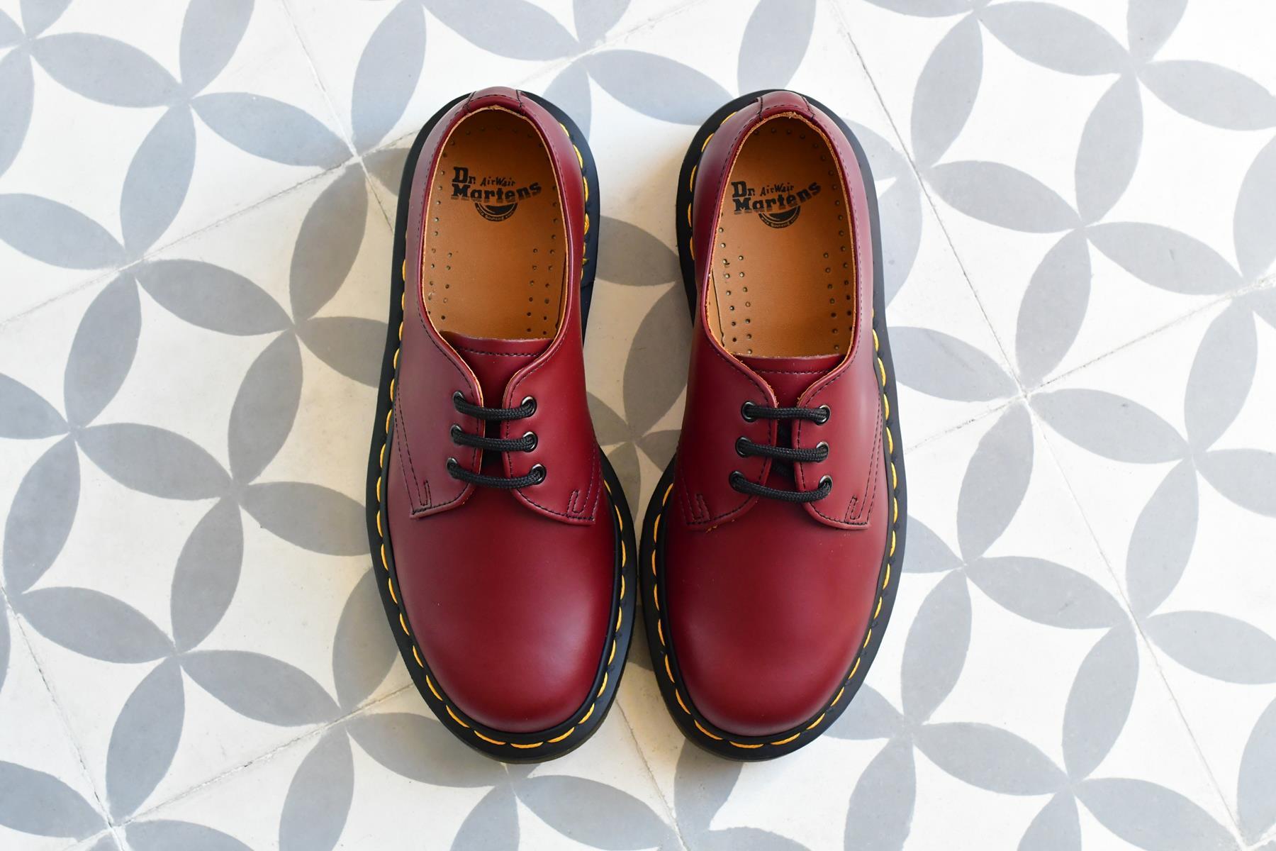 Zapato Dr Martens 1461 Rojo