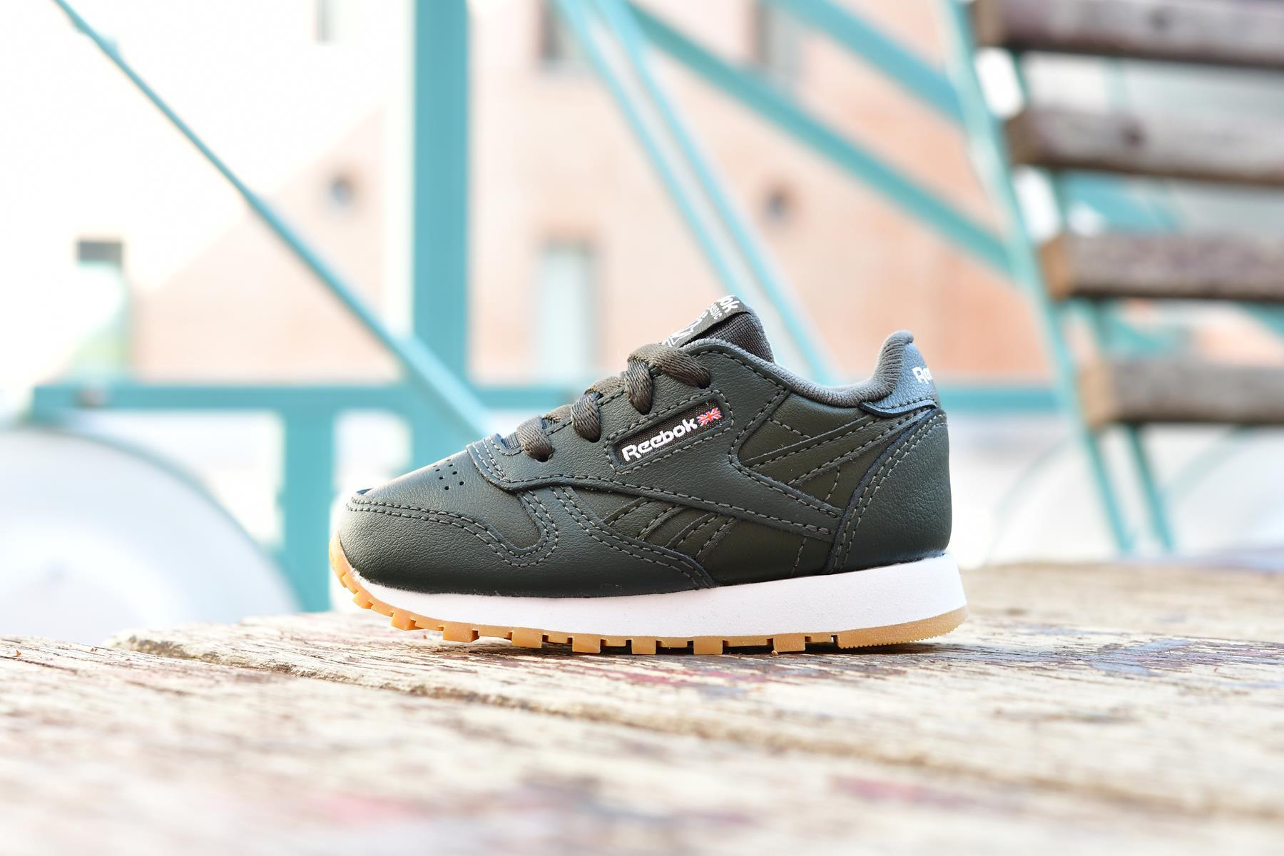 CN5615_AmorShoes-Reebok-Classic-Leather-Dark-Cypress-infants-niño-bebe-zapatilla-cordones-verde-oscuro-CN5615