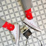 amorsocks-calcetines-socks-camara-instantanea-rojo-red-gris-grey-polaroid