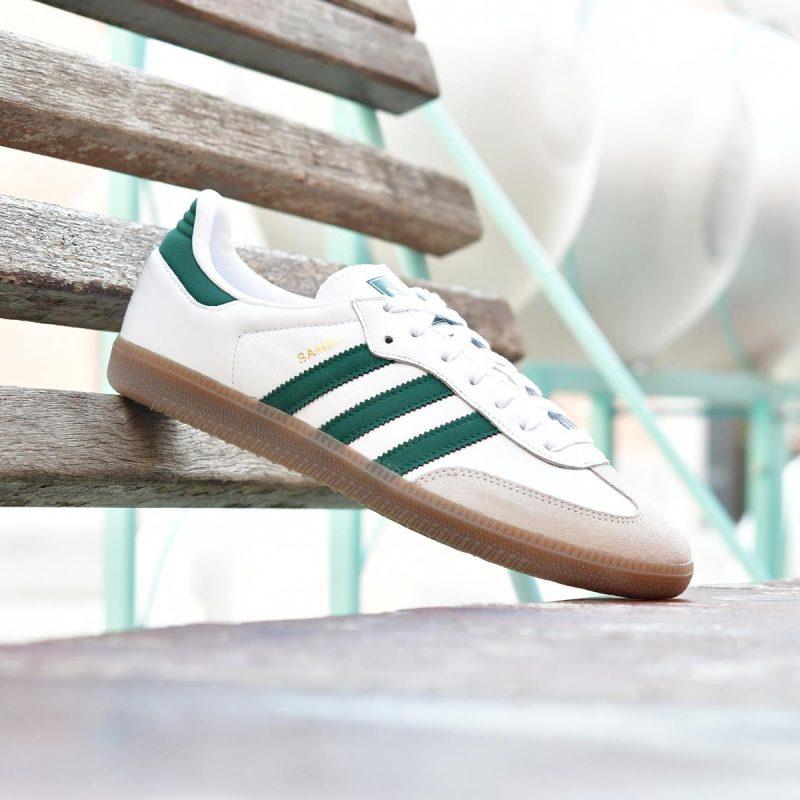 Rayas Suela Originals Caramelo Blanca Y Adidas Og De Verdes Samba sdQxCthr