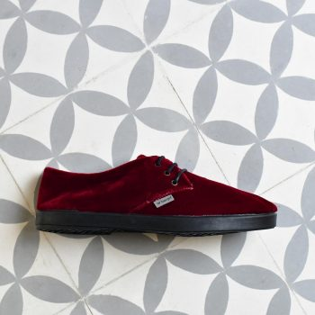 DLAW18-04_AmorShoes-Barqet-Dogma-Low-Red-Velvet-zapato-zapatilla-terciopelo-rojo-forro-paño-textil-DLAW18-04