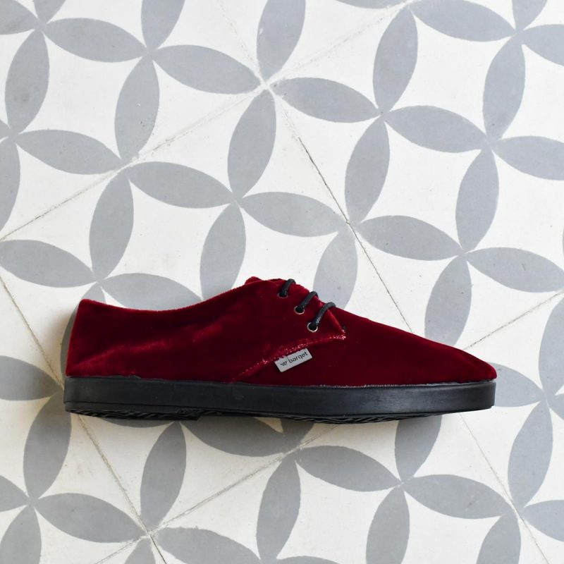 DLAW18-04_AmorShoes-Barqet-Dogma-Low-Red-Velvet-zapato-zapatilla-terciopelo-rojo-forro-paño-textil-DLAW18-04