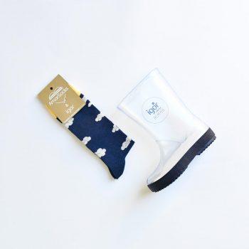 w10187-148_amorshoes-bota-agua-igor-shoes-splash-cristal-transparente-suela-azul-marino-navy-amorsocks-calcetin-paraguas-nubes-w10187-148