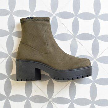 95123_AmorShoes-Victoria-Bota-Botin-tipo-calcetin-antelina-elastica-kaki-95123