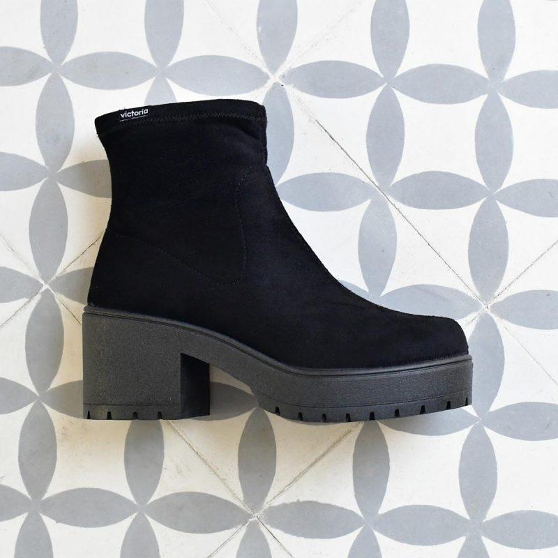 95123_AmorShoes-Victoria-Bota-Botin-tipo-calcetin-antelina-elastica-negro-95123
