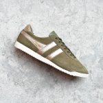 CLA189_Amorshoes-Gola-Bullet-Mirror-khaki-Gold-zapatilla-chica-piel-vuelta-verde-caqui-dorado-CLA189