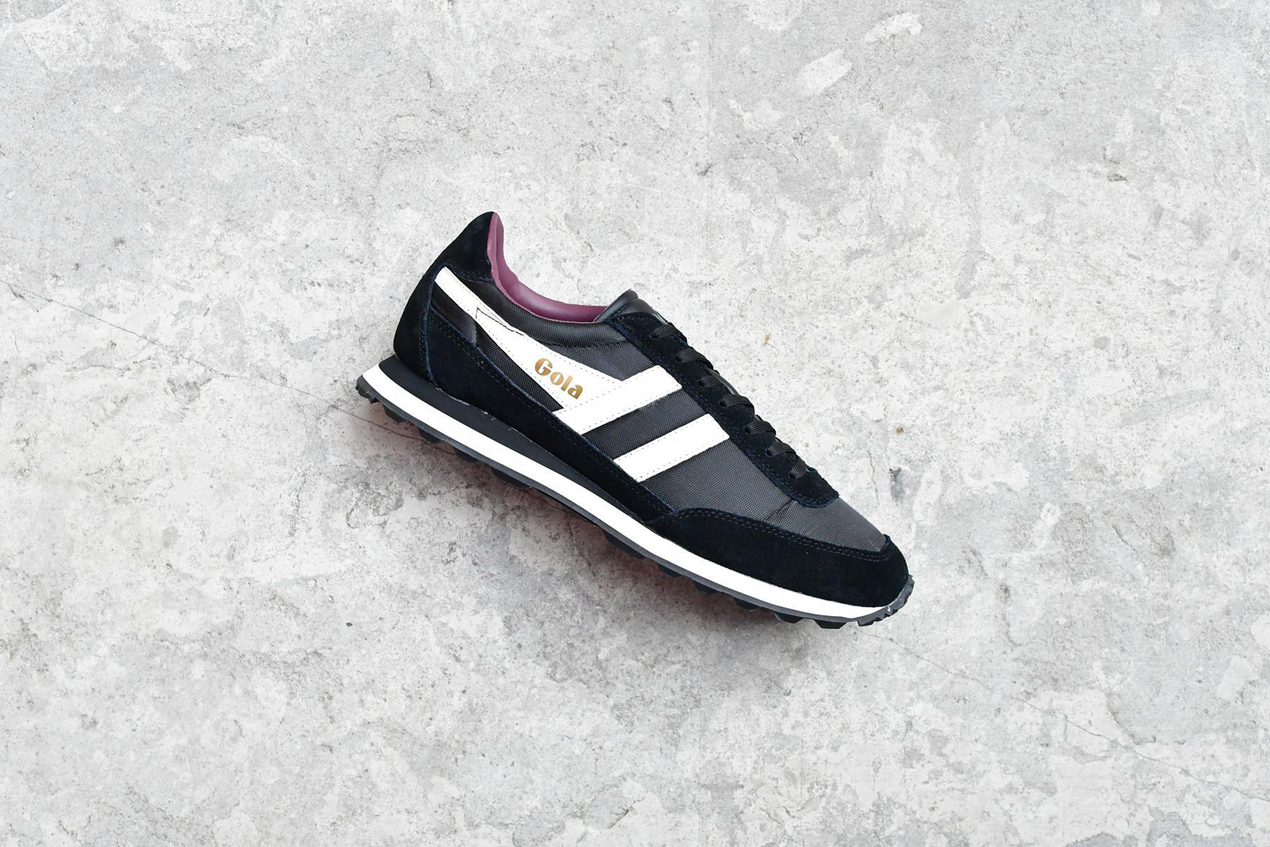 CMA597_AmorShoes-Gola-Flyer-Black-Off-White-Burgundy-zapatilla-nylon-negro-piel-vuelta-negra-logo-blanco-roto-crudo-CMA597