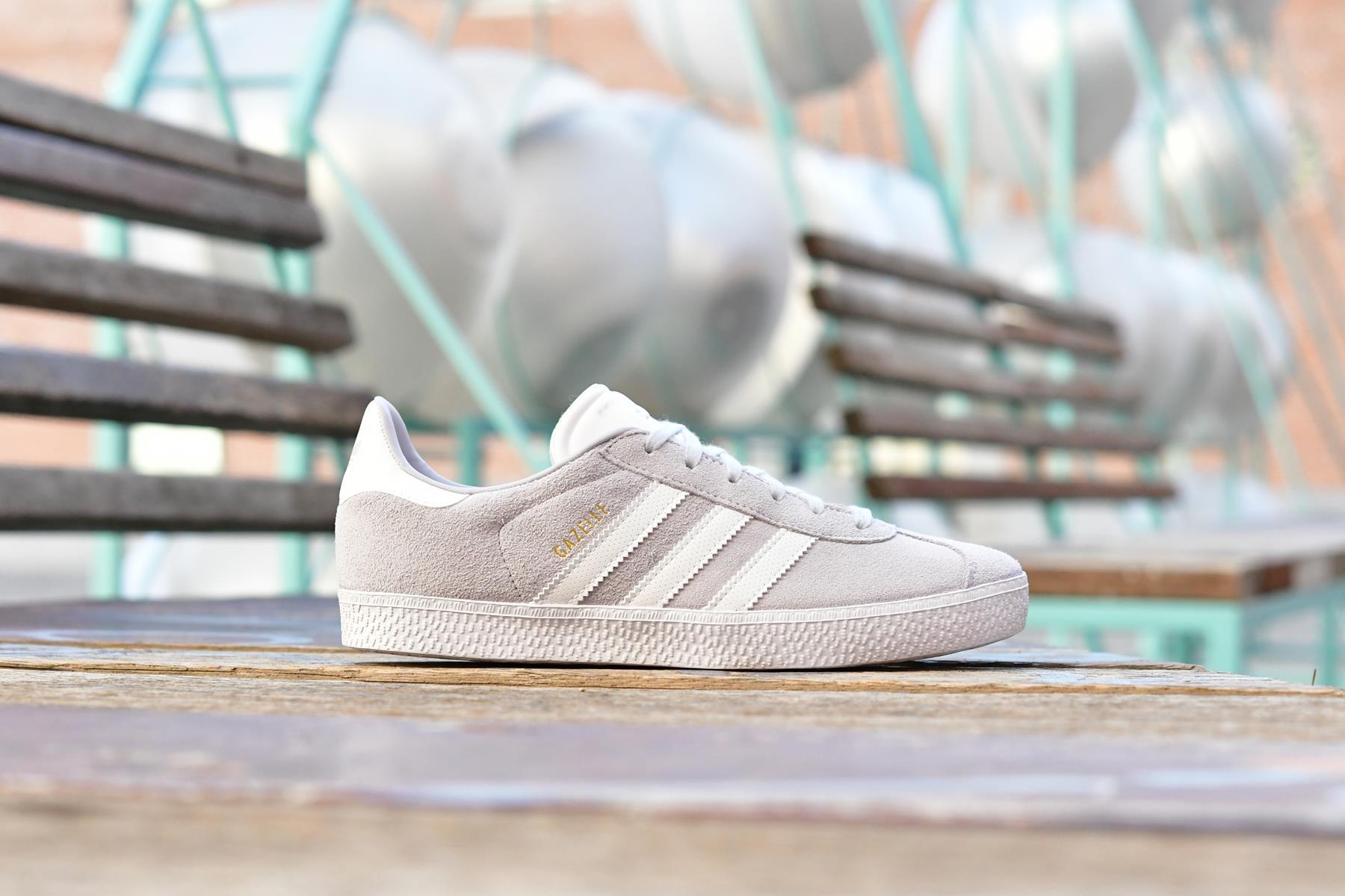 Adidas Originals Gazelle J Gris Claro