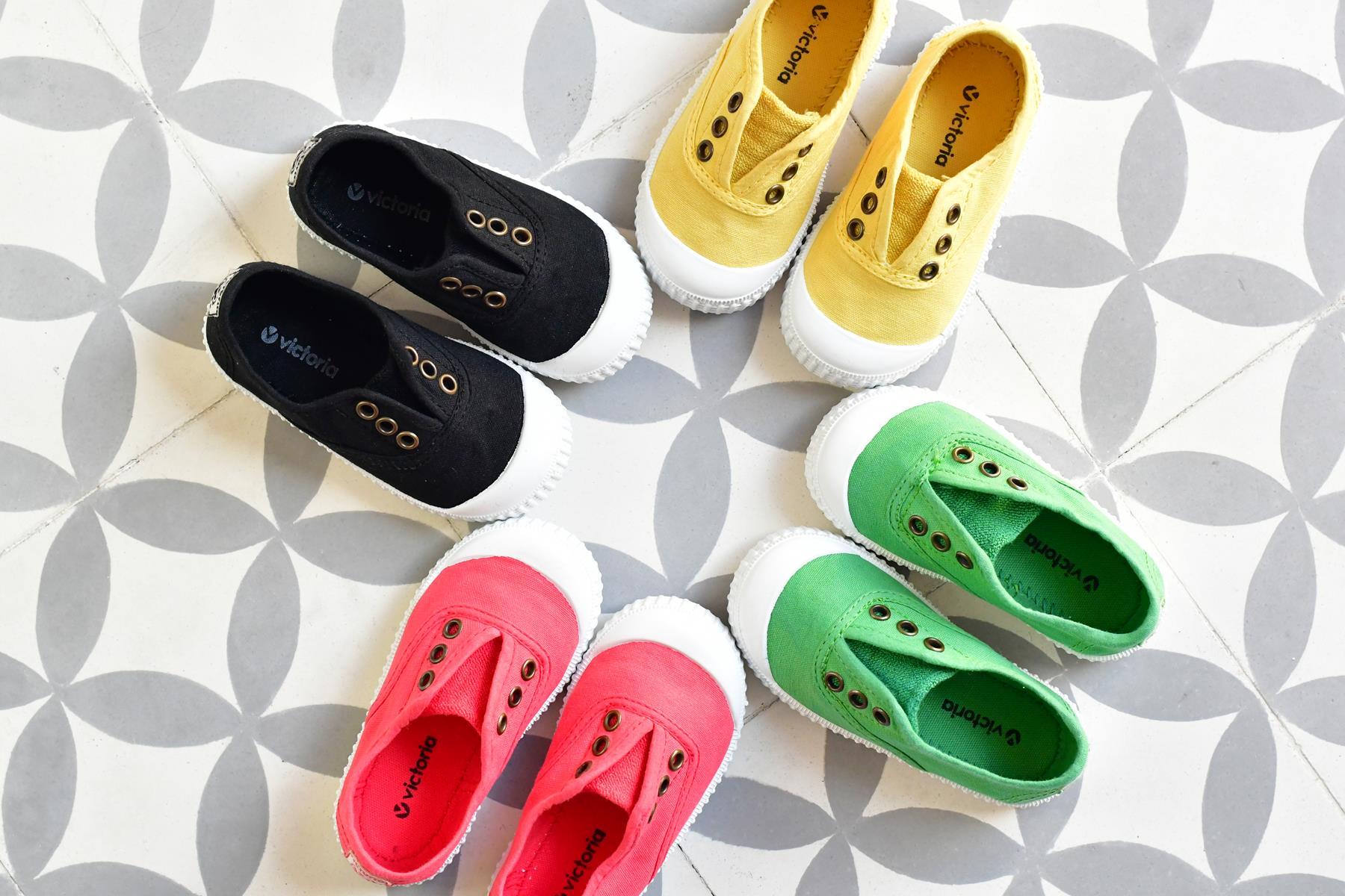 zapatillas victoria niños