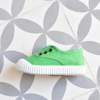 Zapatilla Inglesa Victoria 6627 Verde Trébol AmorShoes