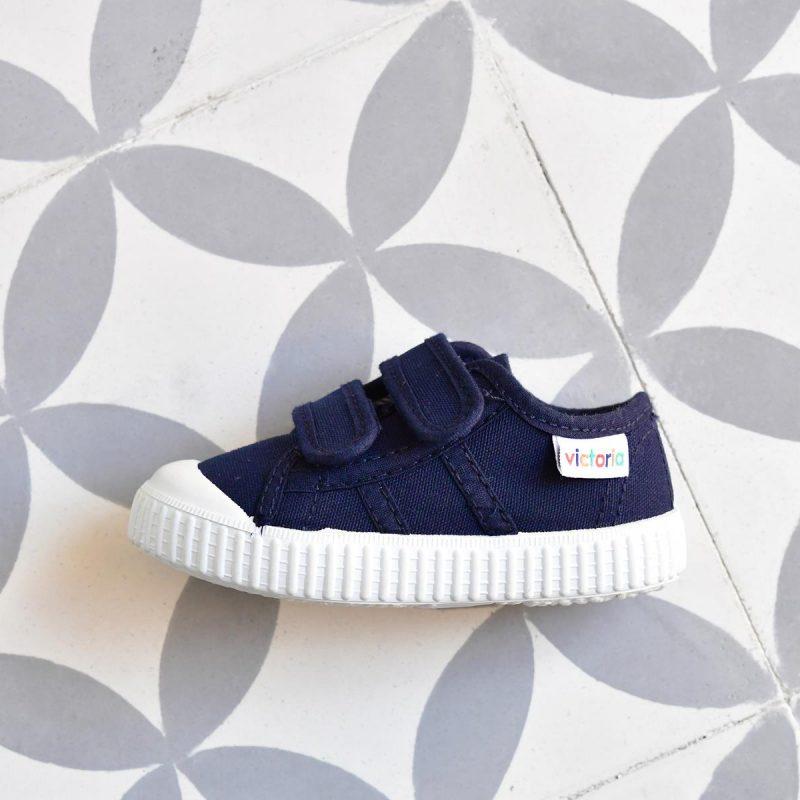 95076623c 36606 AmorShoes-zapatilla-Victoria-shoes-basket-color-azul-marino-